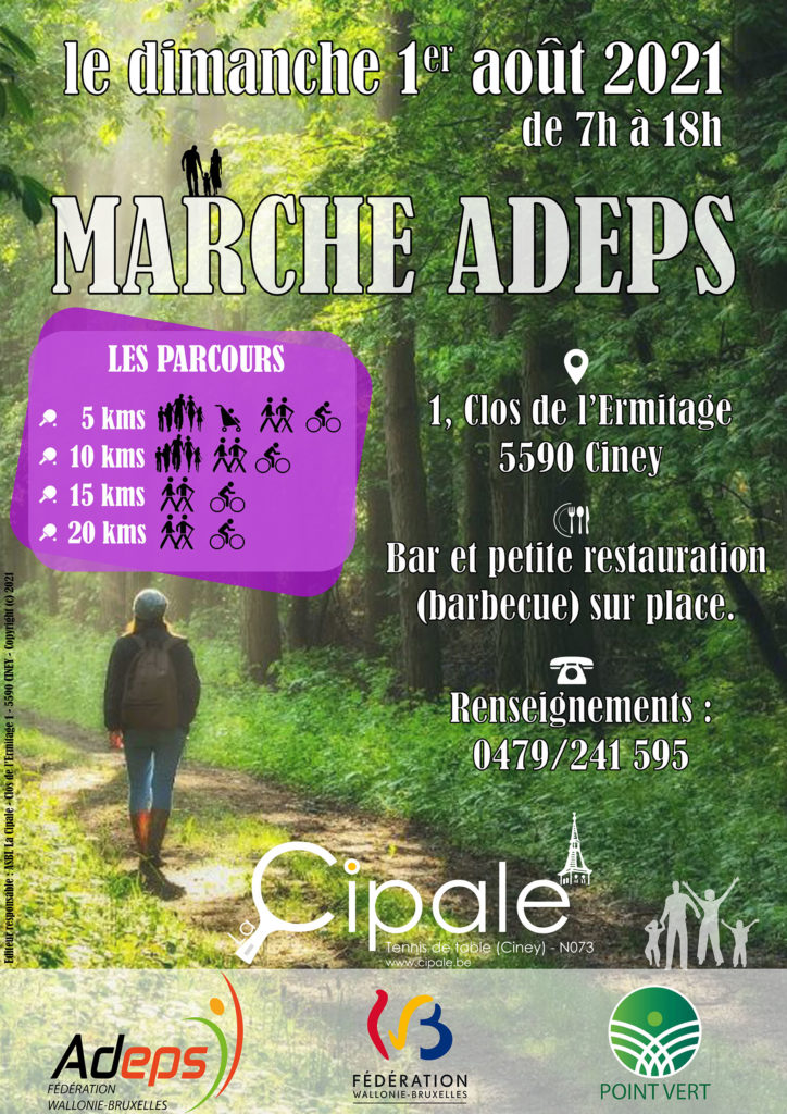 Marche ADEPS 2021